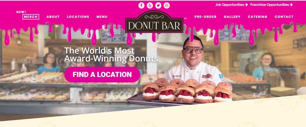 donut bar after
