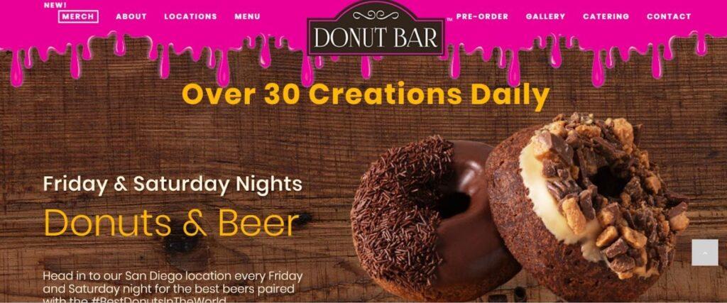 donut bar exhibition-b